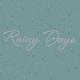 Singin' In The Rain Journal Card- Rainy Days 4x4