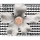 Veggie Table Elements- White Flower