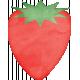Veggie Table Elements- Strawberry