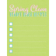 Spring Cleaning Mini Kit- Spring Clean Journal Card 3x4