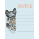 Old Farmhouse Chickens Journal Card 3x4