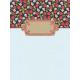 Old Farmhouse Floral Journal Card 3x4