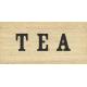 Old Farmhouse Tea Word Art