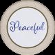 Lavender Fields Peaceful Sticker