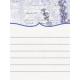 Lavender Fields Journal Card Lavender 3x4