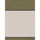 Lavender Fields Journal Card Dots 3x4