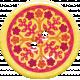 Bohemian Sunshine Element Yellow Button
