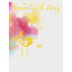 Bohemian Sunshine Beautiful Day 3x4 Journal Card