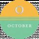 This Beautiful Life October Word Art