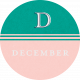 This Beautiful Life December Word Art