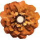 Copper Spice Golden Flower