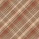 Copper Spice Plaid Paper 12