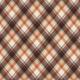Autumn Bramble Plaid Paper without Stitching