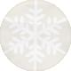 Snowhispers Snowflake Sticker