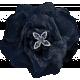 Winter Solstice Dark Blue Flower