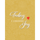 Positively Happy Joy Journal Card 3x4