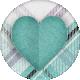 My Tribe Heart Sticker