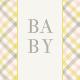 Nesting Baby Journal Card 4x4