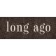Vintage Memories: Genealogy Long Ago Word Art Snippet