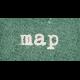 Vintage Memories: Genealogy Map Word Art Snippet