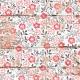 Retro Picnic Floral Wood Paper