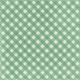 Retro Picnic Green Gingham Paper