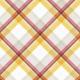 Peach Lemonade Plaid Paper 8
