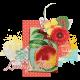 Peach Lemonade Cluster 04 With Shadow