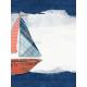 Nantucket Feeling {Sail Away} Sailboat 3x4 Journal Card