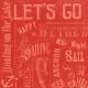 Nantucket Feeling {Sail Away} Words 4x4 Journal Card