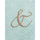 "Cherish Ampersand Journal Card 3""x 4"""