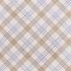 Cherish Tan Plaid Paper