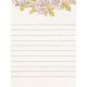 "Tea in the Garden Rose Journal Card 3"" x 4"""