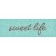 Furry Cuddles Sweet Life Word Art