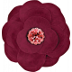 Heard The Buzz? Burgundy Flower