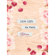 Bloom Revival Live Life Journal Card 3x4