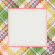 Bloom Revival plaid Journal Card 4x4