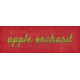 Mulled Cider Apple Orchard Word Art