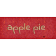 Mulled Cider Apple Pie Word Art