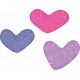 Pajama Party- Girls Hearts Stamp