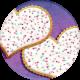 Pajama Party- Girls Cookies Sticker