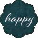 Apricity Label Happy
