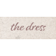 Rustic Wedding The Dress Word Art