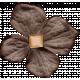 Lets Fika Element Flower Brown