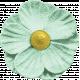 Naturally Curious Flower Green