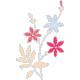 True Friends Element Flower Blue No Sticker