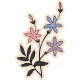 True Friends Element Flower Sticker