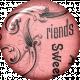 True Friend Pink Friends Flair