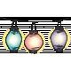 Backyard Summer Element Lanterns Glow