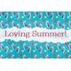 Backyard Summer Loving 4x6 Journal Card